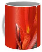 Canna Closeup Coffee Mug by Susan Herber