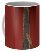 Canoe And Oar Coffee Mug