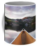 Canoeing In Ontario Provincial Park Coffee Mug