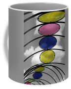 Canopy Black And White Abstract Coffee Mug