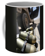 Cans Of Opened 40 Mm Grenades Coffee Mug