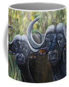 Cape Buffalo 2 Coffee Mug