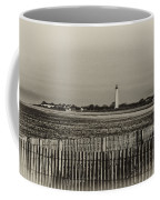 Cape May Light House In Sepia Coffee Mug