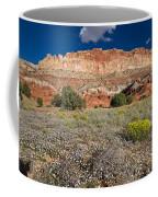 Capitol Reef Autumn Wildflowers Coffee Mug