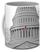 Capitol With Flag Coffee Mug