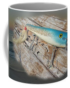 Cap'n Bill Swimmer Vintage Saltwater Fishing Lure Coffee Mug