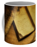 Captain's Journal Coffee Mug