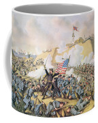 Capture Of Fort Fisher 15th January 1865 Coffee Mug