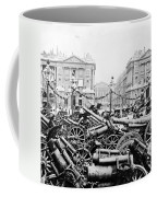 Captured German Guns At Palace De La Concorde In Paris - France Coffee Mug