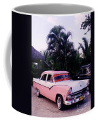 Car Show At The Resort Coffee Mug