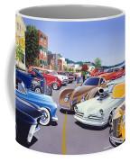 Car Show By The Lake Coffee Mug