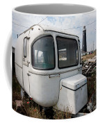 Caravan And Lighthouse Coffee Mug