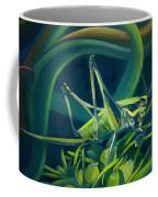 Card Of Mister Grasshopper Coffee Mug