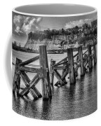 Cardiff Bay Old Jetty Supports Mono Coffee Mug