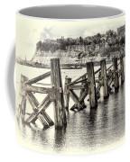 Cardiff Bay Old Jetty Supports Opal Coffee Mug