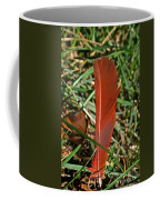 Cardinal Feather Coffee Mug