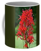 Cardinal Flower Full Bloom Coffee Mug