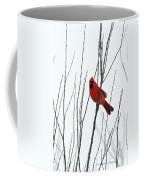 Cardinal In Willow  Coffee Mug