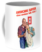 Careless Talk Kills -- Ww2 Propaganda Coffee Mug