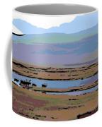 Caribou On The Move Coffee Mug