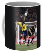 Carles Puyol Jumping Coffee Mug