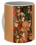 Carnival Masks For Sale Coffee Mug by Jim Richardson