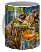 Carousal Camel And Tiger On A Merry-go-round Coffee Mug