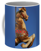 Carousel Horse Against Blue Sky Coffee Mug