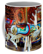 Carousel Horse With Fish Coffee Mug