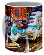 Carousel Horse With Leaves Coffee Mug