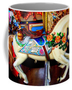 Carousel Horse With Roses Coffee Mug