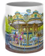 Carousel Ride In Pittsburgh Pennsylvania Coffee Mug