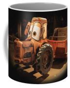 Cars Land Cow Tractor Coffee Mug