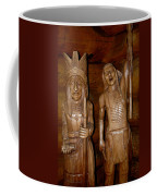 Carved American Indians Coffee Mug