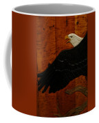Carved Eagle Coffee Mug