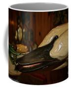 Carved Goose Coffee Mug