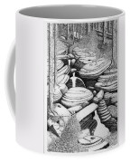 Cascade In Boulders Coffee Mug