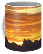 Cascade Mountains Sunrise 1 Coffee Mug