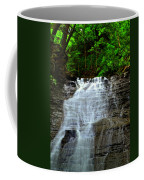 Cascading Falls Coffee Mug by Frozen in Time Fine Art Photography