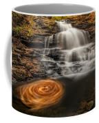 Cascading Swirls Coffee Mug