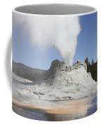 Castle Geyser Steam Phase, Upper Geyser Coffee Mug