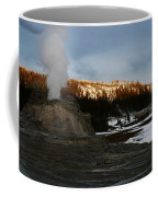 Castle Geyser Yellowstone National Park Coffee Mug