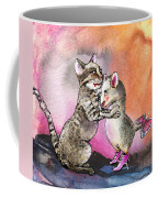 Cat And Mouse Reunited Coffee Mug