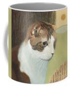 Cat And Sunset Coffee Mug