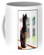 Cat At The Window Coffee Mug