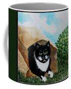 Cat In The Bag Coffee Mug