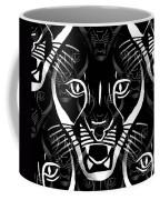 Cat Mask Coffee Mug