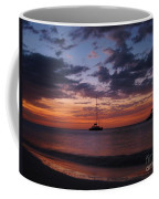 Catamarans  At Sunset Coffee Mug