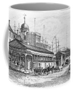 Catharine Market, 1850 Coffee Mug