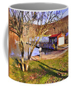 Catoctin Lake Boathouse Coffee Mug